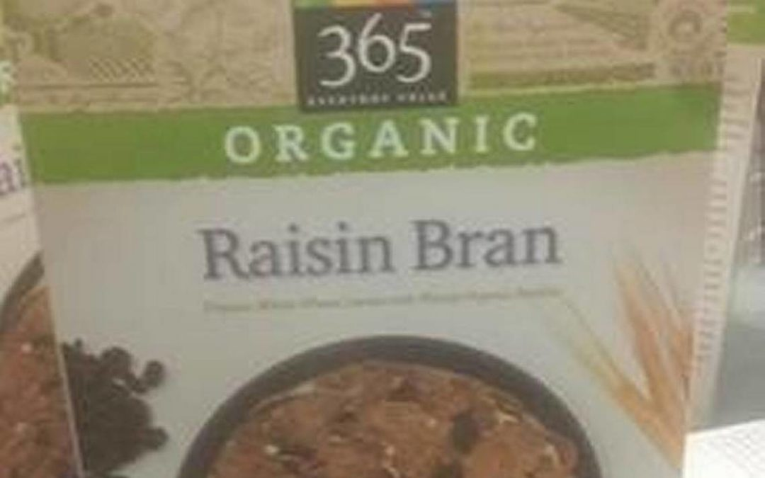 Whole Foods recalls cereal nationwide because potential presence of undeclared peanut