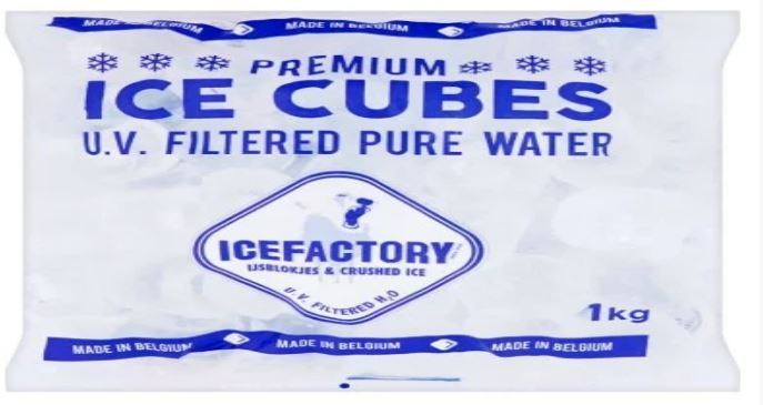 Recall Ice Factory Ice Cubes – product might contain glass