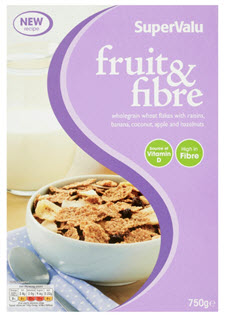 Recall of SuperValu Fruit and Fibre Cereal Due to the Possible Presence of Insects