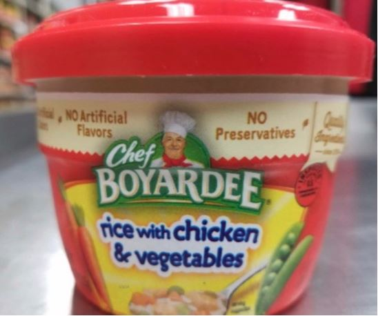 Chef Boyardee Rice with Chicken Recalled For Allergens