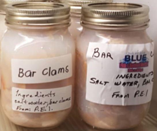 Bottled Bar Clams Recalled For Possible Clostridium Botulinum
