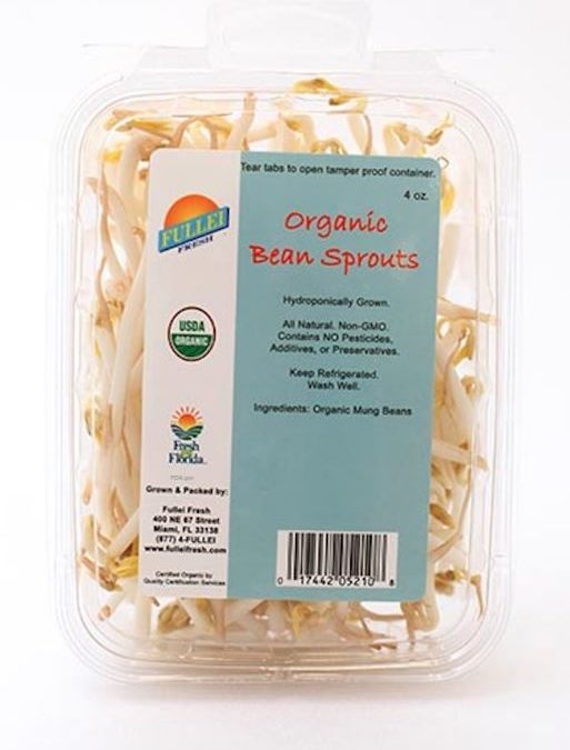 Fullei Fresh Recalls Organic Bean Sprouts For Possible Listeria