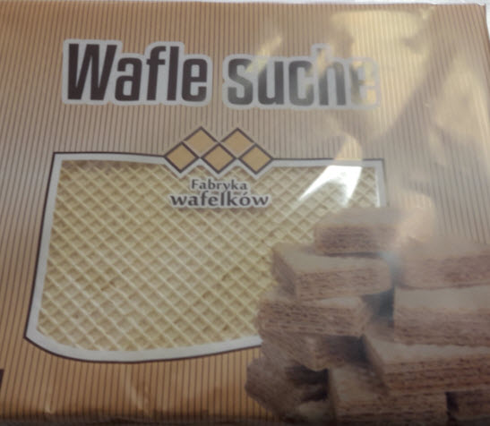 Recall of Wafle Suche Due to Possible Contamination with Salmonella