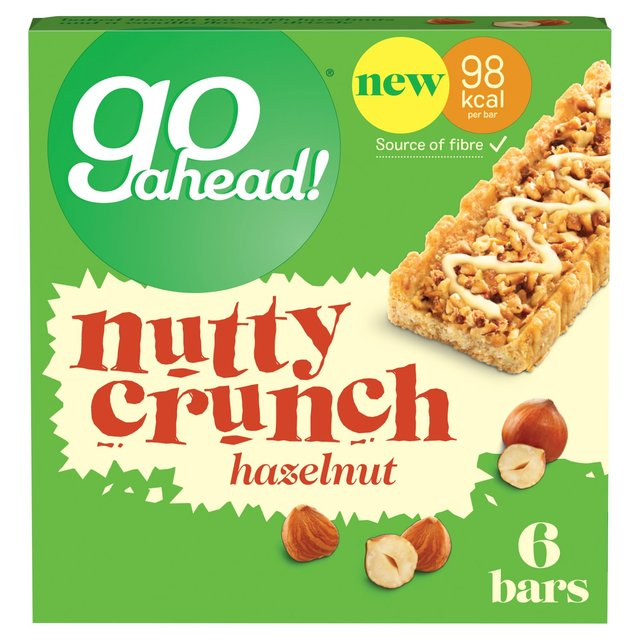 United Biscuits recalls go ahead! Nutty Crunch Hazelnut bars because of undeclared peanuts