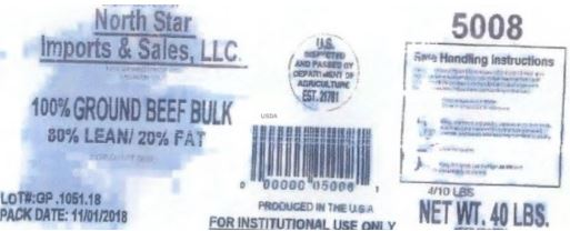 North Star Imports Ground Beef Recalled For E. coli O103 Contamination