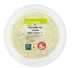 Important safety warning PLUS Smoked chicken salad Better Life 1 * 150 grams, allergens