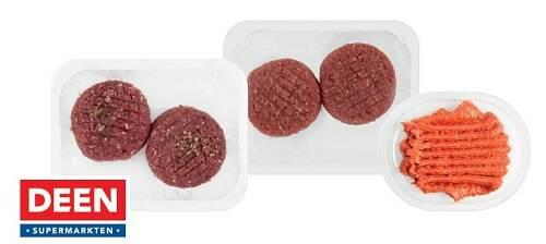 Important safety warning DEEN steak tartare, German steak and filet americain