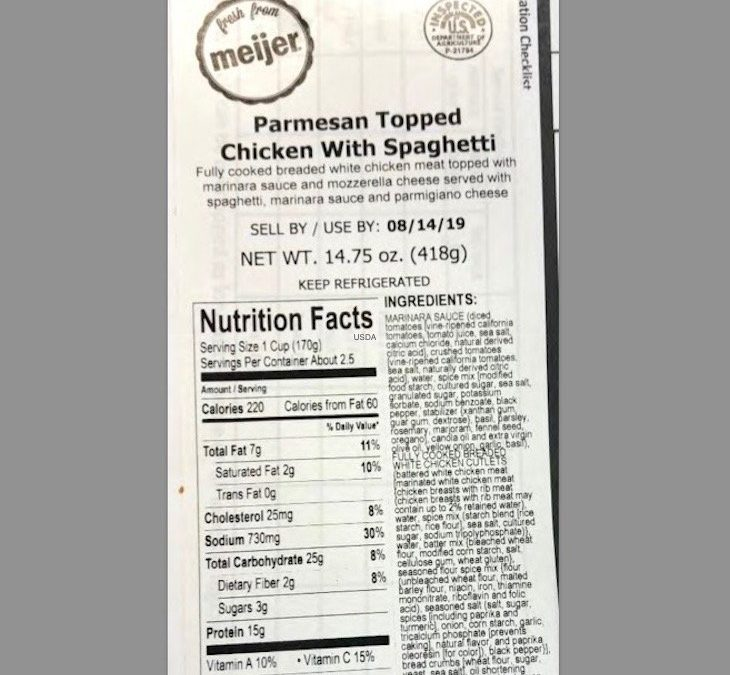 Taylor Farms Chicken Products Recalled For Undercooking