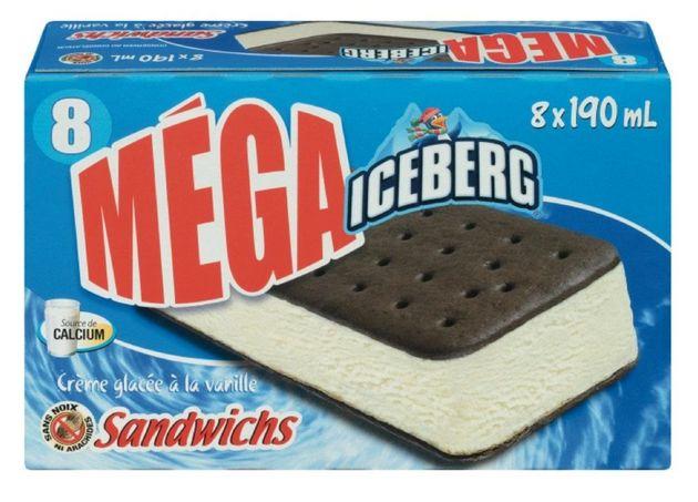 Iceberg, Original Augustin Ice Cream Recalled For Foreign Material