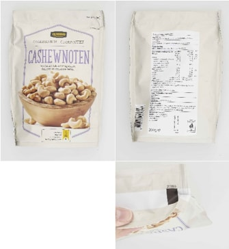 Important safety warning Jumbo Cashew unsalted unsalted 200 grams – Allergens
