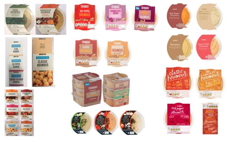 Zorba Delicacies Recalls All Batches of Their Houmous Products Due to the Possible Presence of Salmonella