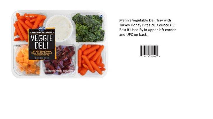 Mann Packing Recalls Del Monte, HEB, Marketside, Signature Farms Veggies For Listeria